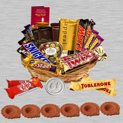 Marvelous Chocolates Gift Hamper for Diwali to Alapuzha