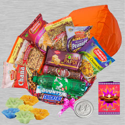 Wonderful Diwali Gifts Basket for Family n Friends to New Delhi