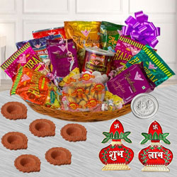 Wonderful Snacks Gift Hamper for Diwali to Adilabad