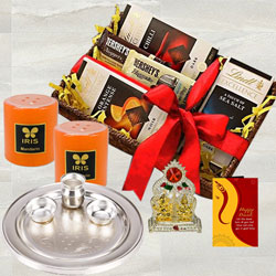 Marvelous Chocolates N Assortments Gift Hamper for Diwali to Alapuzha