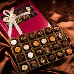 Yummy Handmade Rum filled Chocolate Box to Aleppy