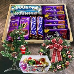 Exclusive Chocos N Assortments Gift Hamper for XMas Day to Aleppy