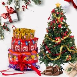 Exclusive Chocolates Arrangement for Christmas to Jamshedpur