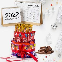 Exclusive Chocolates Arrangement for New Year to Ahmadnagar