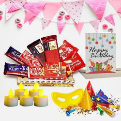 Delectable Chocolates N Assortments Hamper to Aizawl