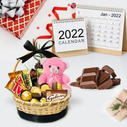 Marvelous Chocolate Gift Basket to Ahmadnagar