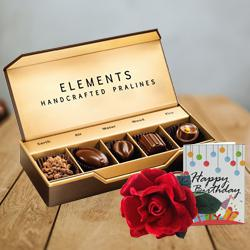 Marvelous ITC Elements Chocos with Velvet Rose N Party Accessories to Adoni