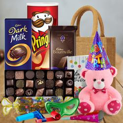 Enticing Chocolates Gift Hamper to Aluva