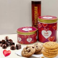 Delicious Imported Cookies N Chocolates Combo to Allahabad