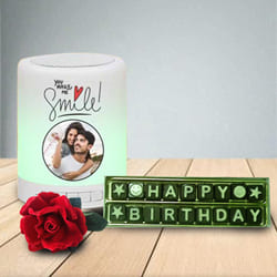 Remarkable Personalized Bluetooth Speaker N Handmade Chocolates Combo to Akola