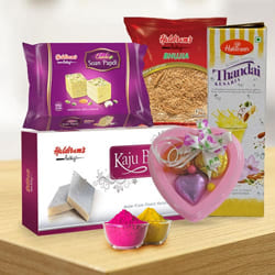 Marvelous Haldirams Gift Hamper for Holi to Adilabad
