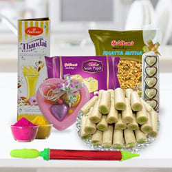 Amazing Holi Food Assortments Gift Hamper to Adilabad