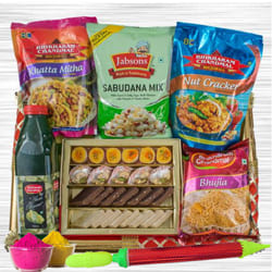 Yummy Munches Gift Hamper for Holi to Aleppy
