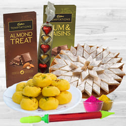 Wonderful Festival of Colors Assortments Gift Combo to Allahabad