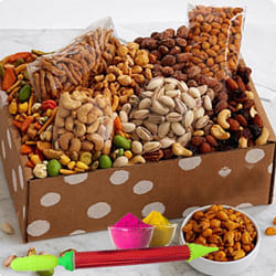 Delicious Mixed Dry Fruits Gift Hamper for Holi to Adugodi