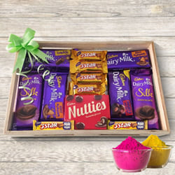Delicious Mouth-Watering Mixed Chocolates Gift Tray to Ahmedabad