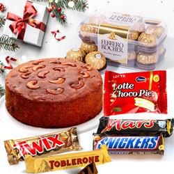 Christmas Goodies Hamper to Akola