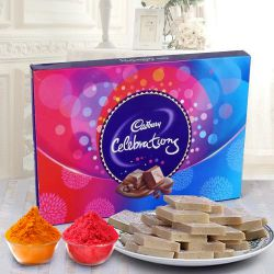 Share Happiness with Haldirams Kaju Katli and a Box of Cadburys Celebrations to Ahmedabad