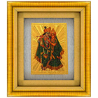 Beautiful Radha Krishna Photo Frame to India