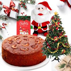 Delicious Heart Touching Christmas Gift Hamper to Ludhiana