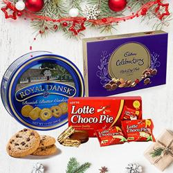 Yummy Christmas Gift Hamper to Rajkot