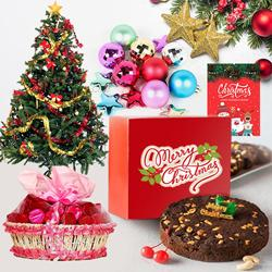 Divine Combination of Christmas Gift Items with Fragrance of Winter to Gurgaon