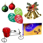 Delightful Gift Hamper with Christmas Spirit to Bellary