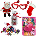 Vibrant Assortment of Christmas Gift Items to Batala