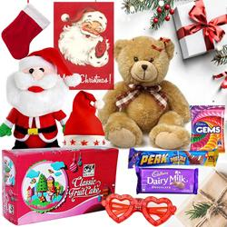 Blissful Combination of Xmas Delicacies with Accessories to Bellary