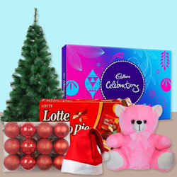 Glamorous Christmas Gift Hamper with Joy to Bellary