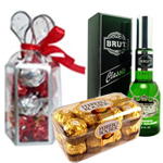 Lovely Presentation of New Year Gift Items with Warm Affection to Baghalkot