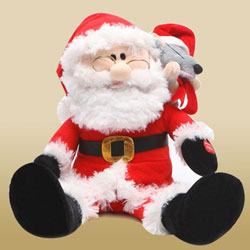 Blithesome Santa Clause Toy to Berhampur