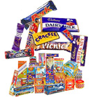 Alluring Hamper of Assorted Cadbury Chocolates and Crackers to Hyderabad