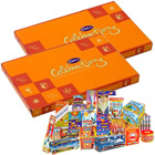Staggering Combo of Cadbury Celebration Pack and Crackers to Belgaum