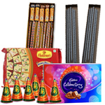 Deluxe Diwali Crackers and Chocolates to Raipur