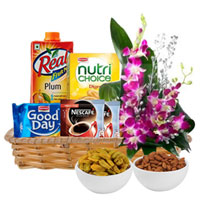 Attractive Gift Basket of Healthy Gourmets to Ankleshwar