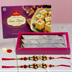 Sweets with Rakhi Set to Belgaum