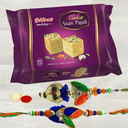 Haldiram Soan Papdi with Rakhi Set to Bhiwadi