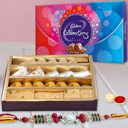 Kuch Meetha Ho Jae Rakhi Gift Hamper to Alwar