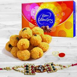 Rakhi with Chocolates n Sweets to Anakapalli