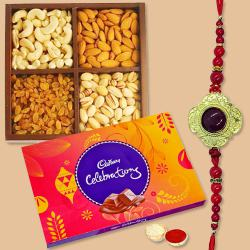 Cadburys Chocolate with Dry Fruits n Rakhi to Chandrapur
