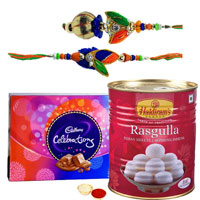 Cadbury Chocolates, Haldirams Rasgulla n Rakhi Set to Noida