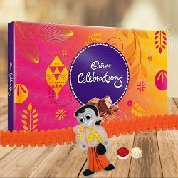 Kids Rakhi with Csadburys Chocolates to Bhiwadi