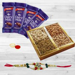 Cadburys Dairy Milk with Dry Fruits n Rakhi to Bulandsher