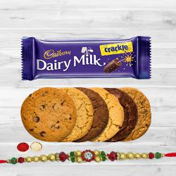 Cadburys Chocolates with Assorted Cookies to Bhiwadi
