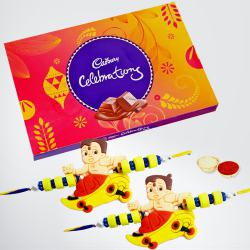 Cadbury Celebrations with 2 Kids Rakhi to Bhiwadi