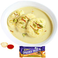 Delectable Cadbury Crackle N Rasmalai to Adilabad