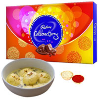 Yummy Cadbury Celebrations Pack N Rasmalai to Aligarh
