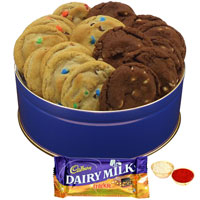 Yummy Assorted Cookies N Dairy Milk Crackle to Adilabad