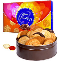 Yummy Mixed Cookies N Cadbury Celebrations Pack to Adilabad